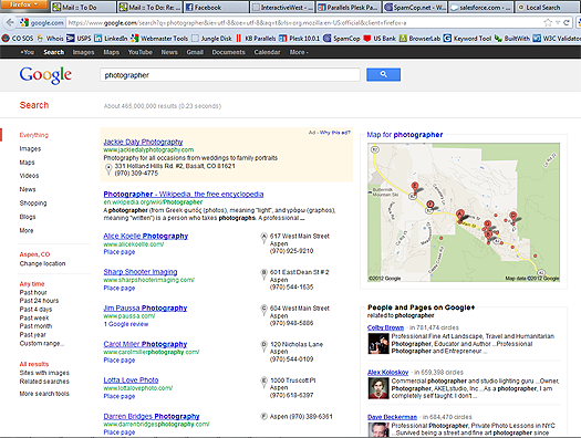 google-local-search-page