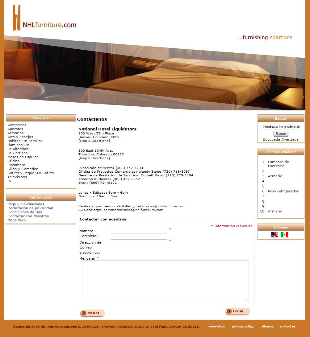 Denver Web Design & Development Porfolio | National Hotel ...